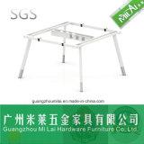 Muebles de fabricación especializados de la partición del sitio de trabajo de la oficina con la pierna del escritorio del acero inoxidable