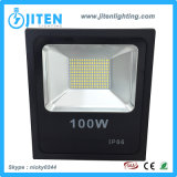 Poder superior quente da luz do projector/inundação do diodo emissor de luz da venda 100W de RoHS do Ce