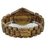 Vigilanza del legno del catenaccio del leopardo del sandalo di legno su ordinazione del reticolo