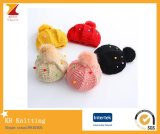 Heiße Verkaufs-Kind-netter Quastbeanie-Hut