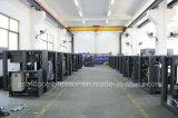 75HP/55kw compressor de ar giratório do estágio energy-saving lubrificado do Gêmeo-Parafuso 2