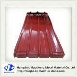 Strato del tetto preverniciato PPGI del ferro ondulato