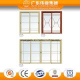 Moderner Art-Ton-Beweis-Aluminiumschiebetür und Fenster