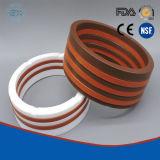 Guarnizione di gomma omogenea/imballaggio a forma di V di Aflas per la pompa di tuffatore e la valvola di regolazione