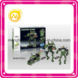 DIY 156 PCS ensamblan el juguete de dios de la tortuga verde del juguete del bloque