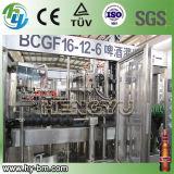 Linha de produção de enchimento da cerveja automática do GV