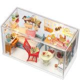 Conjuntos de quarto de estilo mediterrâneo Mini mobiliário Casa de boneca