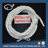 Longue mèche ronde de tissage de fibre de verre de durée de vie et de Non-Noeud
