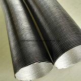 Duto de alumínio da condução de ar da proteção contra o calor do papel da fibra de vidro