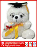 Jouet chaud de peluche de vente d'ours de nounours de graduation