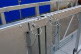 Acier chaud de la galvanisation Zlp630 soulevant la plate-forme de fonctionnement suspendue