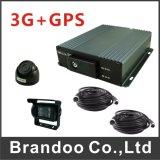 Il mini DVR nero di colore di HD della mini DVR di sostegno di deviazione standard della scheda di tempo reale 4 Manica completa per le auto private