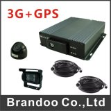 Mini DVR negro del color de HD del mini DVR del soporte del SD de la tarjeta del tiempo real 4 canal completo para los coches privados
