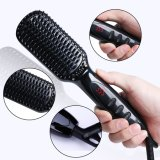 Quick Styling Ceramic Fast Hair Straightening Brush 30s Instant Straightener Anti Scald