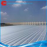 Matériau de toiture de la tôle d'acier en aluminium