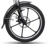 電気自転車(TDN01-3)を折る全車輪