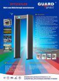De multi Gang van het Frame van de Deur van de Overwelfde galerij van de Veiligheid van Streken door de Detector Xyt2101LCD van het Metaal