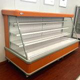 반 높은 슈퍼마켓 열려있는 Multideck 냉각장치