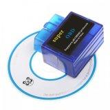 Outil diagnostique OBD2 de balayage de surface adjacente d'OBD de véhicule du scanner Elm327 Bluetooth d'Elm327 OBD2 pour l'androïde