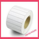 Papier pour étiquettes synthétique direct de la vente pp d'usine/papier thermosensible dans une Rolls