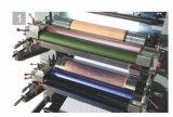 2, 3, máquina de impressão de Flexo de 4 cores para o livro de exercício que faz a cadernos a máquina Ruling