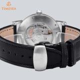 De acero inoxidable automático de los hombres de negocios reloj de pulsera de lujo de acero reloj de marca Watch72155