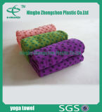 Microfiberの浴室タオルのヨガタオルのマルチカラーのスリップ防止ヨガタオル