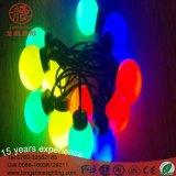 LED-wasserdichte grosse Kugel-Großhandelslichter für Weihnachten