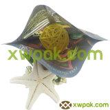 بلاستيكيّة طعام سكّر نبات يعبّئ حقيبة مع سحاب