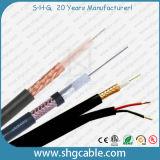 Cable coaxial 3c 2V de la asamblea del sistema de pesos americano de la alta calidad