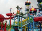 Diapositiva de agua del equipo del parque temático