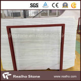 Laje de mármore de madeira branca Polished de Greece para a laje/telha/revestimento