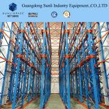 Entraînement à haute densité dans la crémaillère de palette pour la mémoire 1, 000-4, 000 kilogrammes d'entrepôt par niveau