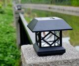 Lumière solaire de fléau de piliers de lumière de lumière solaire solaire de jardin