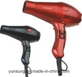 O secador de cabelo iónico profissional o mais novo da cor 2200W com a tecla fria do tiro