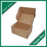 Коробка почтоотправителя бумаги Kraft Corrugated