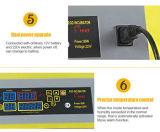 48 de de Digitale Volledige Automatische Kip van eieren/Incubator van de Eend/van de Gans (YZ8-48)