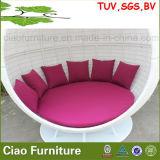 Cadeira de vime do jardim H-Ao ar livre da mobília do pátio