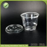 330mlはロゴの使い捨て可能なプラスチックアイスクリームのコップを卸し売りする