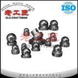 Esferas Unpolished do carboneto de tungstênio de Yg6X para a perfuração do poço de petróleo