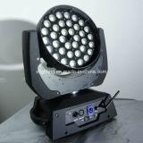 熱い販売法36*18W Rgbwap 6in1washのズームレンズの段階の照明移動ヘッド