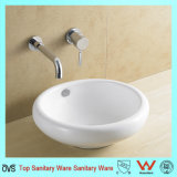 Foshan Bathroom Céramique Ware Top Mount Bathroom Sink