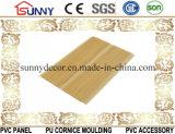 Панели одного потолка PVC цвета паза деревянные, пластичная панель стены, Cielo Raso De PVC