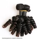 Nueva armadura del pelo humano del color de Natutal del pelo de la Virgen de Fumi de la llegada