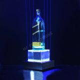 Base personalizzata della visualizzazione della bottiglia del liquore del LED (HJ-DWL06)
