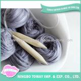 Écharpe chaude de crochet de vente de coton acrylique chaud de laines