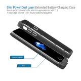Dünne Energien-Doppelschicht-ausgedehnter Batterie-Aufladungs-Fall für Smartphone