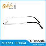 Bâti titanique en verre optiques de lunetterie de monocle du plus défunt modèle (8307)