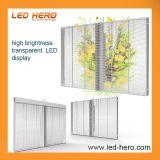 Transparentcy elevado P16 da tela de vidro com idéias creativas