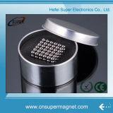 magnete Bucky della terra rara del cubo magico magnetico Bucky delle sfere di 5mm con il contenitore di stagno
